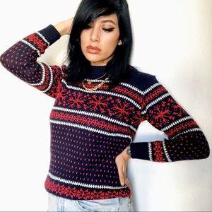 Sweaters - 60s FAIR ISLE Cuddly Sweater 💋